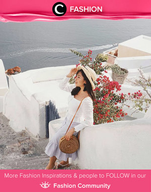 White dress on Good Friday. Selamat merayakan Hari Jumat Agung, Clozetters! Simak Fashion Update ala clozetters lainnya hari ini di Fashion Community. Image shared by Clozetter @Esterherliana. Yuk, share outfit favorit kamu bersama Clozette.