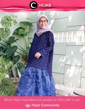 Smile and spread the joy like Clozetter @ellynurul! Simak inspirasi gaya Hijab dari para Clozetters hari ini di Hijab Community. Yuk, share juga gaya hijab andalan kamu.