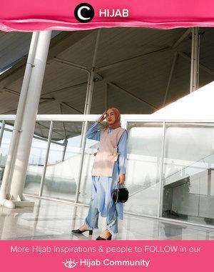 Yay, it's Friday already! Can you feel the weekend vibes? Image shared by Clozetter @NabilaaZ. Simak inspirasi gaya Hijab dari para Clozetters hari ini di Hijab Community. Yuk, share juga gaya hijab andalan kamu.