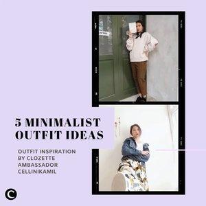 Setelah mencoba beragam tren fashion di tahun 2020, mungkin diantara kamu tahun ini ingin memiliki style yang lebih minimalis? Pilih outfit yang simple tapi tetap terlihat stylish, ya. Seperti style dari Clozette Ambassador @cellinikamil pada video ini. Yuk, tonton videonya! Siapa tahu bisa jadi inspirasi kamu✨  📷@cellinikamil  #ClozetteID #ClozetteIDVideo