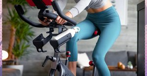 This exercise bike lets you have an at-home spin class without leaving your house