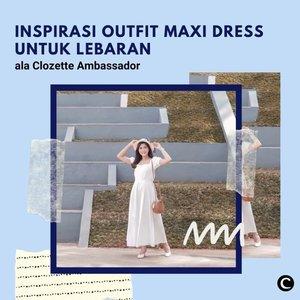 Gimana puasa hari ini, Clozetters? Semoga lancar, ya! Anyway, sudah ada yang prepare buat baju lebaran nanti? Ada alternatif buat kamu yang lagi ngga ingin pakai kaftan, nih! Menggunakan maxi dress agar tetap terlihat santun dan elegan. Yuk, simak video inspirasi outfit maxi dress untuk lebaran ala Clozette Ambassador berikut!  📷@kaniasafitrii @karinaorin @fazkyazalicka @rimasuwarjono  #ClozetteID #ClozetteIDVideo #ootdinspiration #Maxidress #outfitlebaran