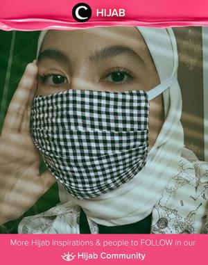 Mask is the new fashion trend, who's agree? Image shared by Clozette Ambassador @Ladyulia. Simak inspirasi gaya Hijab dari para Clozetters hari ini di Hijab Community. Yuk, share juga gaya hijab andalan kamu.