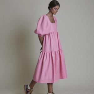 Tiered Dress, Tren Dress yang Sudah Ada Sejak Tahun 1870-an!