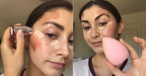 I Tested the Viral 5-Minute Makeup Hack From TikTok to See If It Really Works, and Whoa