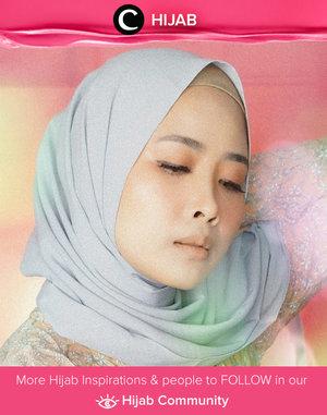 Pastel look that gives such a romantic feeling. Image shared by Clozetter @disyaicha. Simak inspirasi gaya Hijab dari para Clozetters hari ini di Hijab Community. Yuk, share juga gaya hijab andalan kamu.