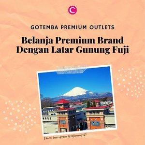 Menjadi salah satu premium outlet paling populer di Jepang, di Gotemba Premium Outlets kita enggak hanya bisa berbelanja, tapi juga ditemani pemandangan indah Gunung Fuji! . #ClozetteID #ClozetteCcoolJapan #ClozetteIDCoolJapan