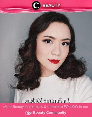 We looove this classic, vintage look by Clozetter pinapina! Cocok untuk kamu yang ingin terlihat lebih dewasa. Simak Beauty Updates ala clozetters lainnya hari ini di Beauty Community. Image shared by Clozetter: @Pinapina. Yuk, share juga makeup look favoritmu.