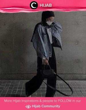 Another boyish look inspo by Clozette Ambassador @karinaorin. Simak inspirasi gaya Hijab dari para Clozetters hari ini di Hijab Community. Yuk, share juga gaya hijab andalan kamu.