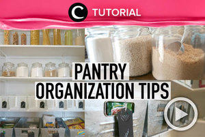 Bingung merapikan dapur? Coba simak tips ini, Clozetters: http://bit.ly/2u9HldR. Video ini di-share kembali oleh Clozetter @dintjess. Lihat juga tutorial lainnya di Tutorial Section.