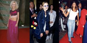 These Wild Red-Carpet Outfits From the '90s Will Leave You Speechless