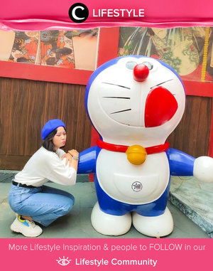 Meet our childhood best friends! Doraemon Lovers! Image shared by Clozette Ambassadpr @mndalicious. Simak Lifestyle Update ala clozetters lainnya hari ini di Lifestyle Community. Yuk, share momen favoritmu bersama Clozette.