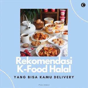 Bingung makan apa siang ini? Cobain Korean food halal ini, aja! Semuanya bisa kamu delivery via aplikasi Gojek/Grab. . Hmm.. enaknya pesan tteokbokki, gamja hotdog, atau mandu, ya? . 📷 @gildak.id @mujigaeresto @kkuldak.id @kyochon_id @reddog.id  #ClozetteID #ClozetteIDVideo #KFoodIndonesia #KFood