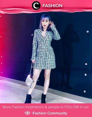 Glam look in boots? Clozetter @ladies_journal nailed it perfectly! Simak Fashion Update ala clozetters lainnya hari ini di Fashion Community. Yuk, share outfit favorit kamu bersama Clozette.