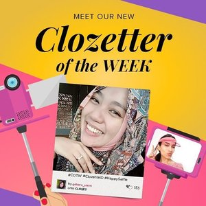 Selamat ya @gaharu_nisaa kamu terpilih sebagai Clozetters dengan selfie terbaik!! Segera kirim data dirimu (nama, alamat, dan nomor kontak) ke hello@clozette.co. Yang lain, bersiap untuk mengikuti tema berikutnya yaitu #StyleAtWork! Upload foto gaya kerja andalanmu ke www.clozette.co.id, jangan lupa sertakan hashtag #COTW #StyleAtWork, ya. Good luck!  #ClozetteID #HappySelfie