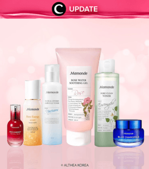 Clear glass skin is every girls' dream, and special promo from Althea will help you to achieve that. Get your K-Beauty products now, and save your money with the special discount for ALL the products. Prepare your e-cart, and shop (online) now! Lihat info lengkapnya pada bagian Premium Section aplikasi Clozette. Bagi yang belum memiliki Clozette App, kamu bisa download di sini https://go.onelink.me/app/clozetteupdates. Jangan lewatkan info seputar acara dan promo dari brand/store lainnya di Updates section.