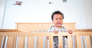 If Your Baby Wakes Up Crying Hysterically, You're Not Alone — Here's What May Be Going On