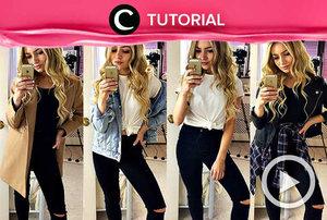Merasa penampilanmu selalu kurang ok? Coba intip triknya di: http://bit.ly/2WrkKXA. Video ini di-share kembali oleh Clozetter @Ranialda. Lihat juga tutorial lainnya di Tutorial Section.