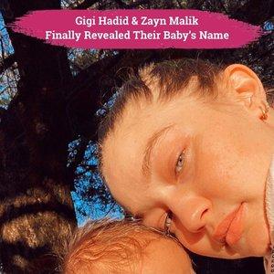"""Setelah merahasiakannya selama 4 bulan, Gigi Hadid akhirnya mengungkapkan pada publik nama bayi perempuannya: Khai👶🏻❤️  Khai, diambil dari bahasa Arab yang mempunyai arti """"Mahkota"""" sementara nama belakangnya, yang diambil dari nama keluarga Zayn, Malik berarti """"Raja"""". Maka nama anak perempuan Zayn Malik dan Gigi Hadid ini mempunyai arti """"Raja yang dimahkotai""""👑  Hal ini pertama kali diumumkan Gigi Hadid melalui bio instagram terbarunya: Khai's mom. """"Khai"""" dan """"ZIGI"""" langsung menjadi trending topic worldwide pada twitter nggak lama setelah Gigi mengganti bio-nya pagi ini.  Menariknya lagi, banyak orang yang baru menyadari bahwa Zayn dan Gigi sudah memberi clue mengenai nama anaknya melalui tattoo baru di pergelangan tangan Zayn yang bertuliskan """"Khai"""" dalam huruf Arab (slide 3) dan plat nomor mobil mereka """"GZK"""" yang diambil dari inisial Gigi, Zayn, dan Khai (slide 4). Say helo to Khai Malik, Clozetters!✨  📷 @GigiHadid @Zayn #ClozetteID #GigiHadie #ZaynMalik #Khai"""