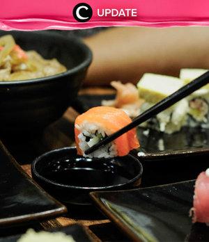 Makan sushi memang nikmat, tapi lebih nikmat lagi kalau diskon 17% off di Negiya Dining. Lihat info lengkapnya pada bagian Premium Section aplikasi Clozette. Bagi yang belum memiliki Clozette App, kamu bisa download di sini https://go.onelink.me/app/clozetteupdates. Jangan lewatkan info seputar acara dan promo dari brand/store lainnya di Updates section.