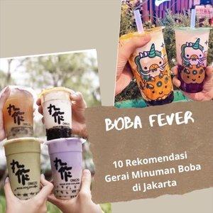Minuman dengan komposisi brown suggar dan bubble atau boba ini sangat digemari oleh masyarakat. Berbagai merek dan gerai minuman boba pun terus bermunculan. Kamu sudah mencoba minuman apa saja, Clozetters? Simak 10 rekomendasi merek/ gerai minuman boba di Jakarta yang bisa kamu coba dalam video berikut. #ClozetteID #ClozetteIDVideo