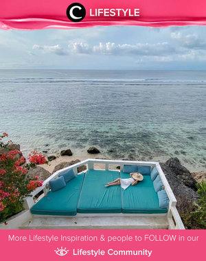 A peaceful day in Mandala The Rocks, Bali. Image shared by Clozette Ambassador @steviiewong. Simak Lifestyle Update ala clozetters lainnya hari ini di Lifestyle Community. Yuk, share momen favoritmu bersama Clozette.