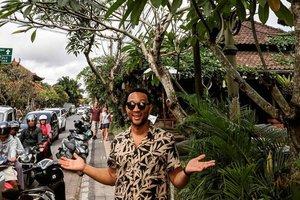 Intip Serunya Liburan Keluarga John Legend di Bali