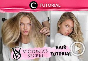 Ingin rambut seperti Victoria Secret angels? Coba intip caranya di: http://bit.ly/2LlVKeb. Video ini di-share kembali oleh Clozetter @Shafirasyahnaz. Lihat juga tutorial updates lainnya di Tutorial Section.