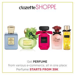 Clozetters, parfum bisa menggambarkan kepribadianmu, lho. Pilih parfum dengan aroma yang sesuai dengan kepribadiammu. Belanja parfum pilihan dari berbagai ecommerce site MULAI 39K via #ClozetteSHOPPE! http://bit.ly/1nXaNef