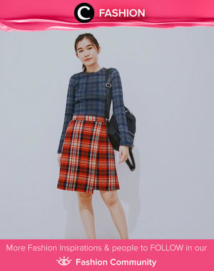 Plaid outfits with different colors could make a great combination! Simak Fashion Update ala clozetters lainnya hari ini di Fashion Community. Image shared by Clozetter @syanstephanie. Yuk, share outfit favorit kamu bersama Clozette.