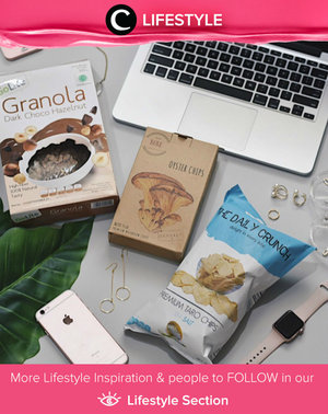 Let's be healthier by eating more veggies,  less meat anda healthy snacks. I You don't feel guilty anymore when snacking. Simak Lifestyle Updates ala clozetters lainnya hari ini di Lifestyle Section. Image shared by Clozetter: @devinahakim. Yuk, share momen favorit kamu bersama Clozette.