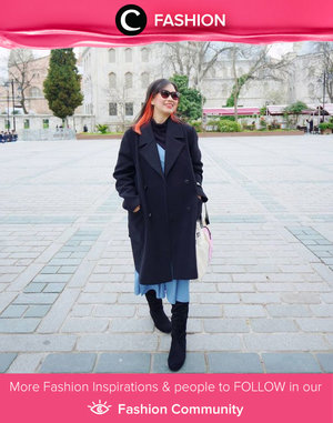Kira-kira kapan ya, kita bisa traveling dan mengenakan outfit winter lagi? Image shared by Clozetter @dheasuryawan. Simak Fashion Update ala clozetters lainnya hari ini di Fashion Community. Yuk, share outfit favorit kamu bersama Clozette.