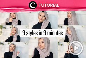 Take your hijab styling to another level. See the tutorial here: https://bit.ly/3q3mxNu. Video ini di-share kembali oleh Clozetter @shafirasyahnaz. Lihat juga tutorial lainnya di Tutorial Section.