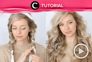 Tanpa alat pemanas, cara ini efektif untuk mengeriting rambutmu: https://bit.ly/3murhKn. Video ini di-share kembali oleh Clozetter @zahirazahra. Lihat juga tutorial lainnya yang ada di Tutorial Section.