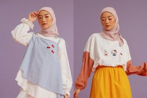 5 Cara Mix And Match Baju Warna Pastel Untuk Hijaber Agar Tampak Awet Muda