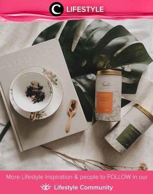 Aroma teh yang menenangkan dibalut dengan packaging yang cantik. Local tea brand Havilla Tea ini bisa kamu coba, Clozetters. Simak Lifestyle Updates ala clozetters lainnya hari ini di Lifestyle Community. Image shared by Clozetter @Cellinikamil. Yuk, share juga momen favoritmu.