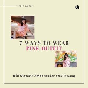 Valentine's day is coming💕 setiap tahunnya, hari kasih sayang selalu identik dengan warna merah muda. Jadi, nggak ada salahnya, lho Clozetters, mengenakan pakaian bernuansa merah muda untuk acara di hari valentine nanti. Untuk kamu yang belum terbiasa mix and match outfit berwarna merah muda, yuk intip inspirasinya dari Clozette Ambassador @steviiewong melalui video berikut ini!✨  📷 @steviiewong #ClozetteID #ClozetteIDVideo #pinkoutfit #valentinesday
