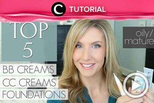 Kira-kira foundation dan BB cream apa, ya, yang cocok untuk mature skin? Intip tipsnya di: http://bit.ly/2KGPcEe. Video ini di-share kembali oleh Clozetter @juliahadi. Intip tutorial lainnya di Tutorial Section.