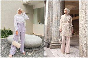 7 Model Celana Hijab Kekinian Yang Santun Dan Stylish Untuk Lebaran