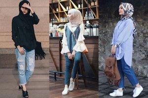 7 Inspirasi Hijab dan Celana Jeans untuk Semua Usia yang Tak Akan Ketinggalan Zaman
