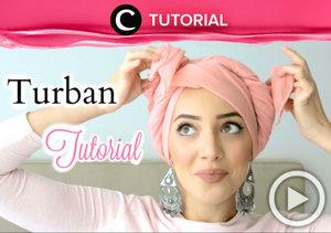 Membuat hijab turban terasa lebih mudah tanpa peniti atau jarum. Yuk, cari tau caranya, di sini http://bit.ly/2kpb2QK. Video ini di-share kembali oleh Clozetter: @zahirazahra. Cek Tutorial Updates lainnya pada Tutorial Section.