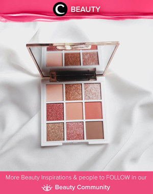Say hello to Clozetter @arumdwns' newest addiction: Esqa Cosmetics palette!  Simak Beauty Update ala clozetters lainnya hari ini di Beauty Community. Yuk, share produk favorit dan makeup look kamu bersama Clozette.