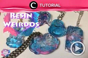 Check out these cheap resin jewelries ideas: http://bit.ly/31R2CFk. Video ini di-share kembali oleh Clozetter @saniaalatas. Lihat juga tutorial lainnya di Tutorial Section.