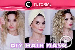 Bring back your shiny hair with this DIY hair mask! Intip video tutorialnya di: http://bit.ly/2SXp7YL . Video ini di-share kembali oleh Clozetter @aquagurl. Lihat juga beragam tips dan tutorial lainnya di Tutorial Section.