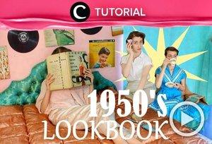 Dressing like the '50s for a week! Check the tutorial here: https://bit.ly/3vSS9HK. Video ini di-share kembali oleh Clozetter @kyriaa. Lihat juga tutorial lainnya di Tutorial Section.