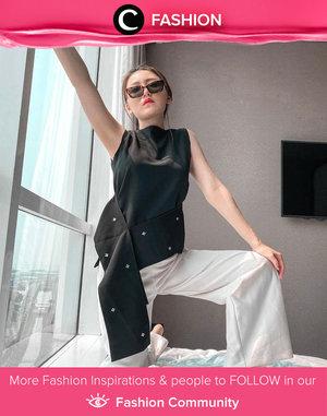 Clozette Ambassador @vicisenna wishes you a cool weekend, Clozetters! Simak Fashion Update ala clozetters lainnya hari ini di Fashion Community. Yuk, share outfit favorit kamu bersama Clozette.