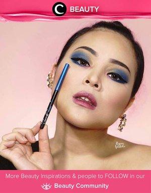 Wow, look how Lakme 9to5 Iconic Kajal in Royal Blue did its magic! Da bomb! Simak Beauty Updates ala clozetters lainnya hari ini di Beauty Community. Image shared by Clozetter @reginayoshida. Yuk, share beauty product andalan kamu.