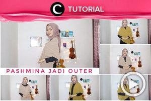 Tampil stylish dengan scarf sebagai outerwear, yuk: https://bit.ly/3sqmHi7. Video ini di-share kembali oleh Clozetter @saniaalatas. Lihat juga tutorial lainnya di Tutorial Section.