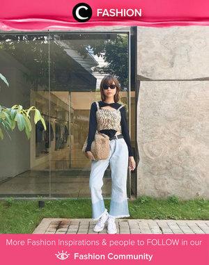 Thursday easy style shared by Clozetter @isnadani. Simak Fashion Update ala clozetters lainnya hari ini di Fashion Community. Yuk, share outfit favorit kamu bersama Clozette.