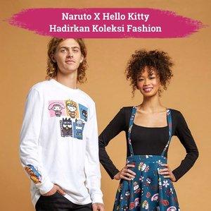 Merayakan hari jadi Naruto Shippuden tahun ini, Naruto menggandeng Hello Kitty untuk meluncurkan berbagai item fashion yang menggemaskan. Mulai dari t-shirt, backpack, sweetpants, hingga pouch yang dipercantik oleh ilustrasi Hello Kitty & friends dalam balutan ala ninja khas Naruto Shippuden. Siapa yang tertarik memiliki koleksi kolaborasi ini?✨  📷 @hellokitty @hottopic @sanrio #ClozetteID #ClozetteIDCoolJapan #ClozetteXCoolJapan #HelloKitty #Naruto